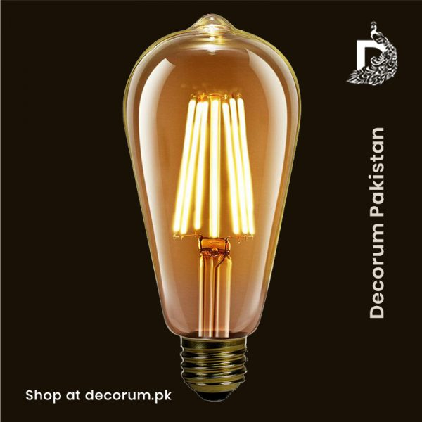 vintage edison led bulb online decorum.pk pakistan lahore islamabad karachi best